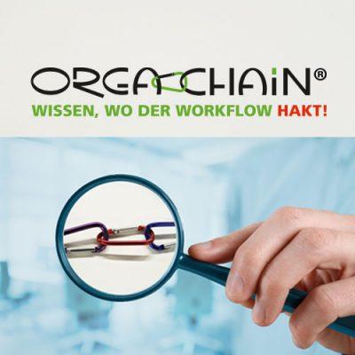 Workflow-Analyse mit Orga-chain