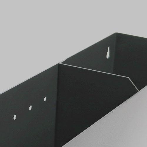 Remectro-Schlauch-und Kabelbox Trennwand