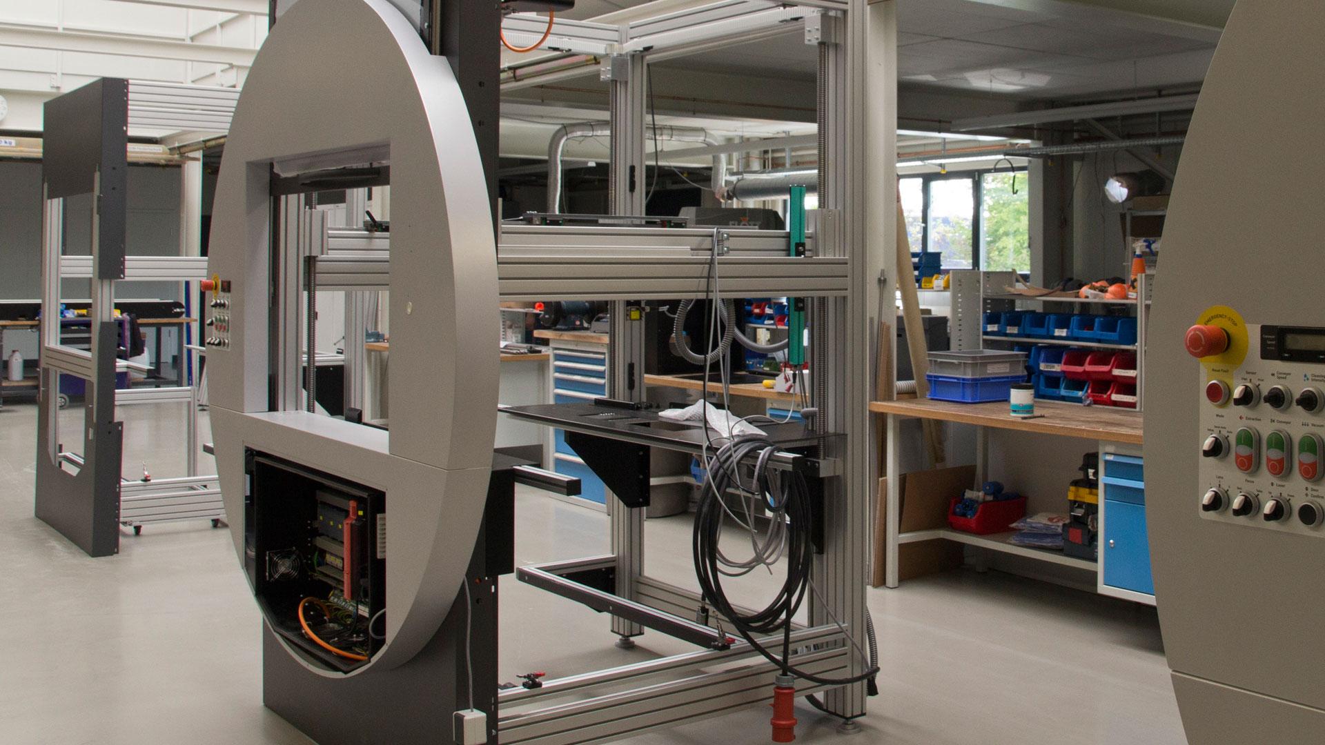 Remectro-Maschinenbau-Papierlaser